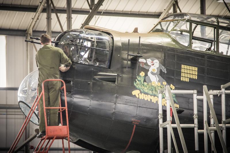 Lancaster nose art