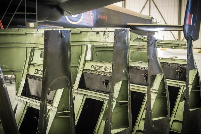 Lancaster engine cowls